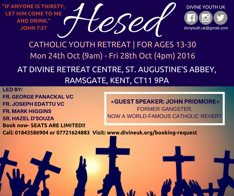 Hesed Youth Retreat - October 2016