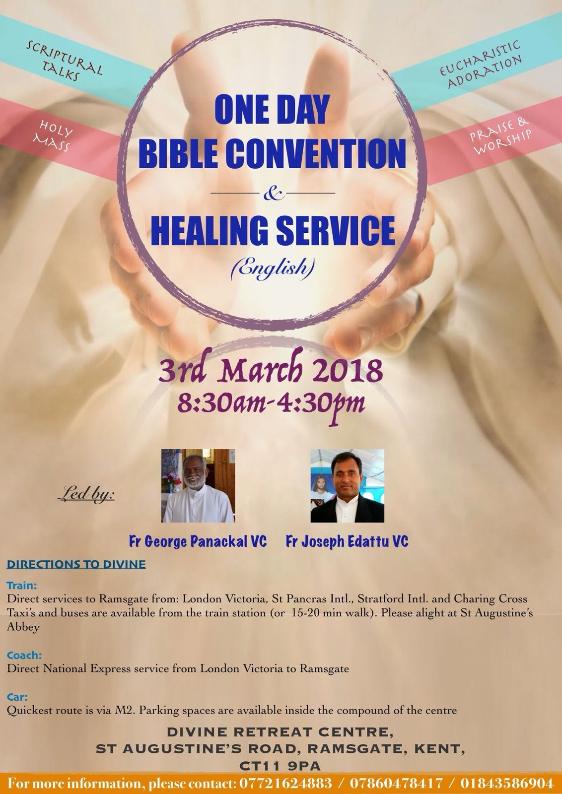 March First Saturday Convention – English